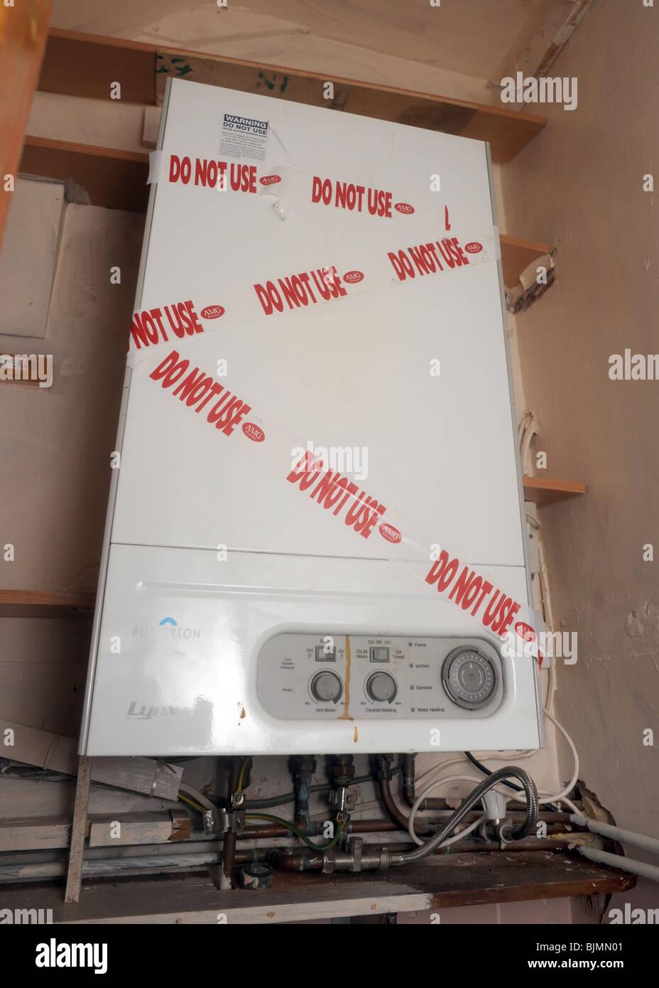 Gas Boiler Stock Photos & Gas Boiler Stock Images - Alamy