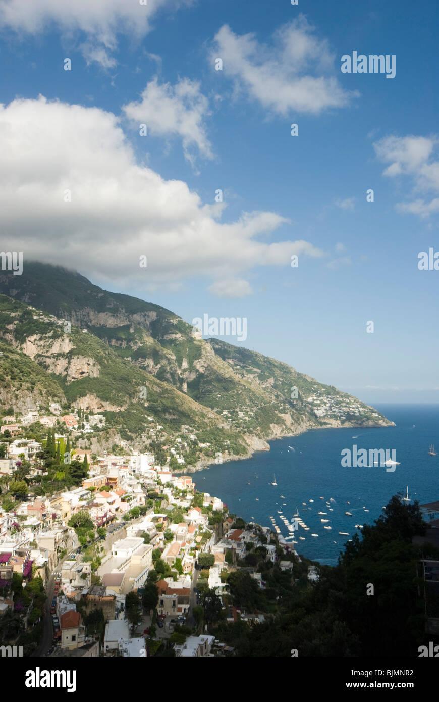 Italien, Kampanien, Amalfiküste, Positano | Italy, Campania, Amalfi Coast, Positano - Stock Image