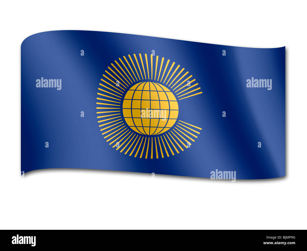 Flag of the Commonwealth of Nations - Stock Image