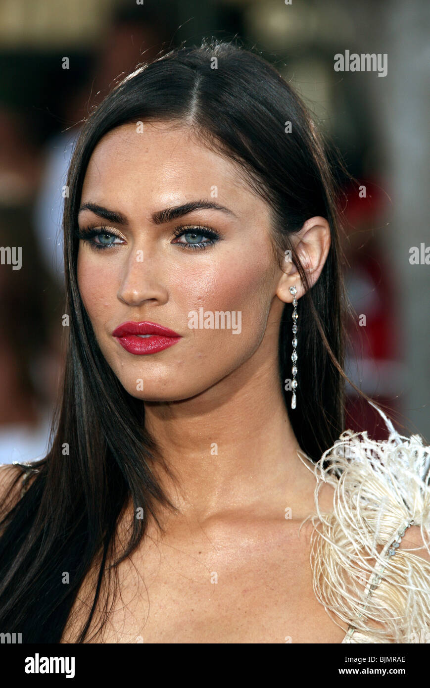 MEGAN FOX TRANSFORMERS PREMIERE WESTWOOD LOS ANGELES USA ...