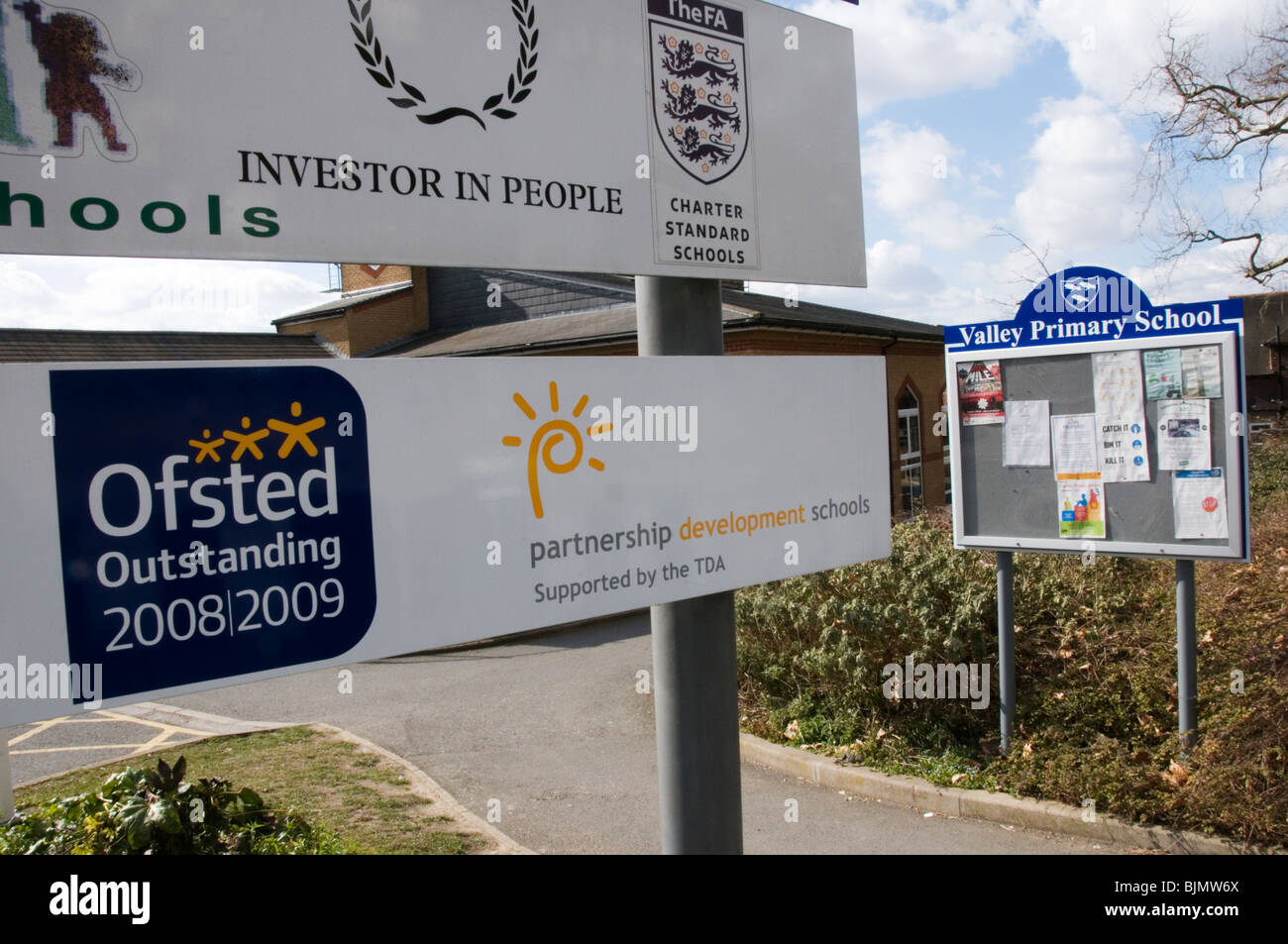 Valley Primary School, Shortlands, Bromley, Kent, England - Ofsted Outstanding - Stock Image