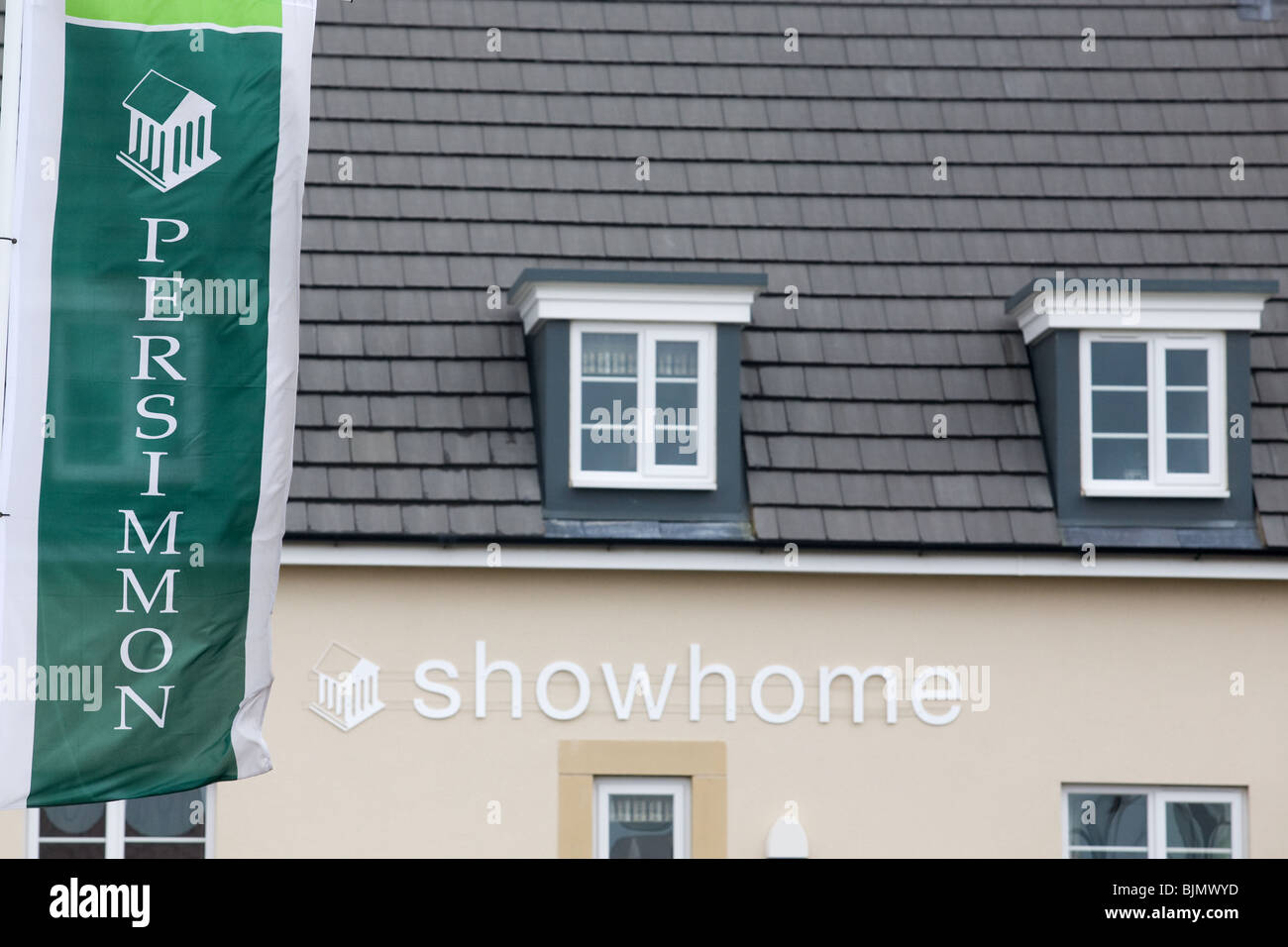 Persimmon Homes Development - Stock Image