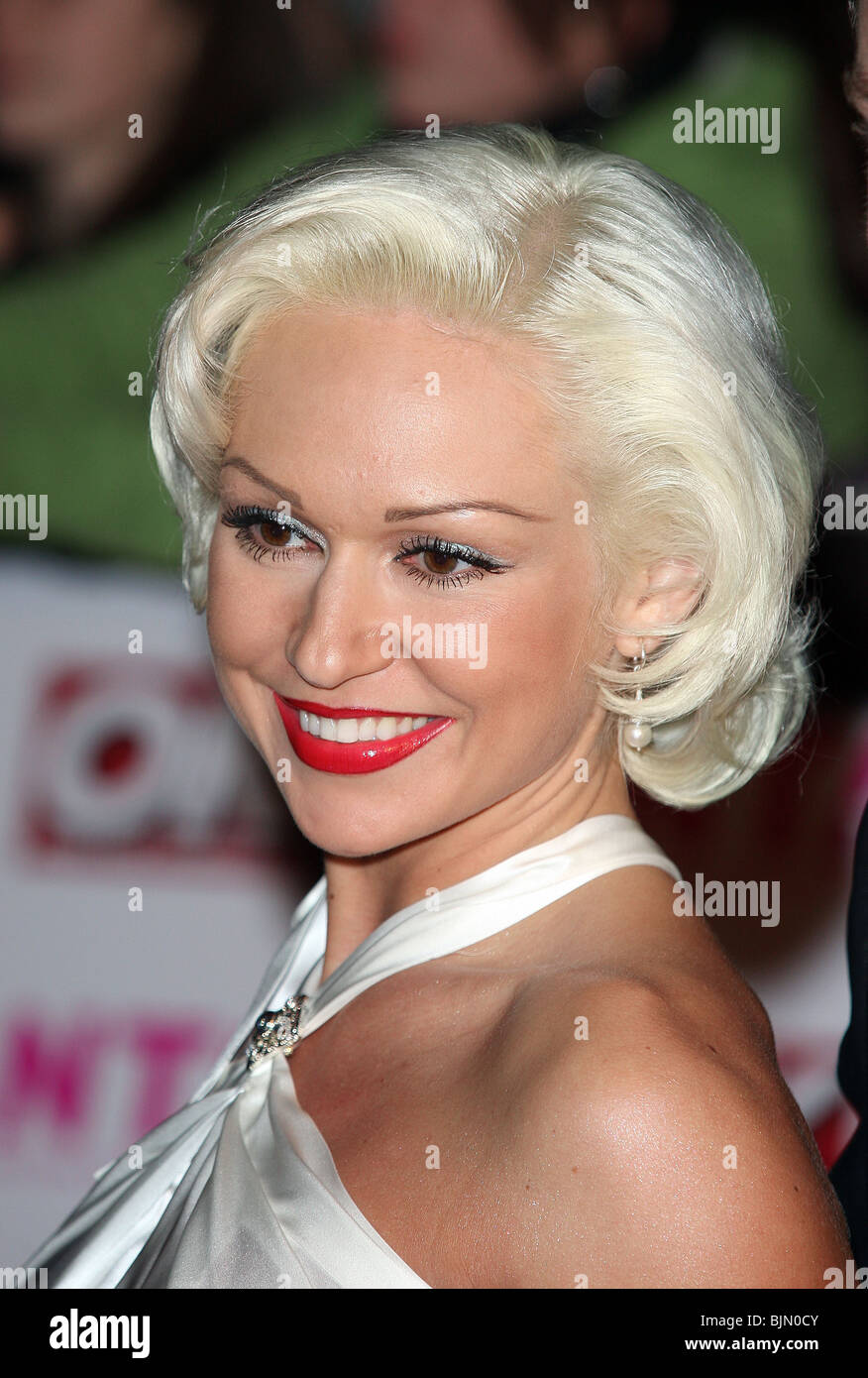 KRISTINA RIHANOFF NATIONAL TELEVISION AWARDS 2008 THE ROYAL ALBERT HALL LONDON ENGLAND 29 October 2008 - Stock Image