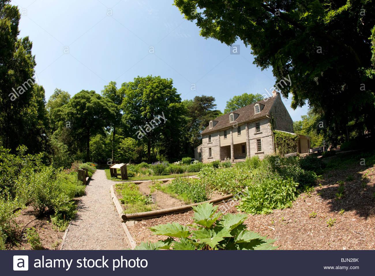 John Bartramu0027s Gardens, Philadelphia, Pennsylvania, Oldest ...