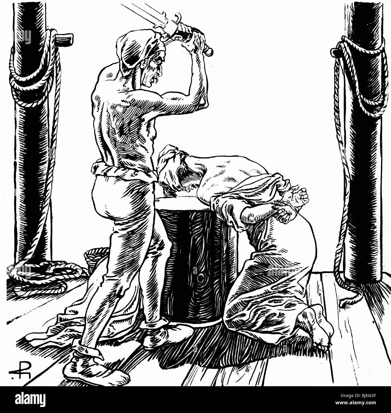 Erotic death penalty illustrations