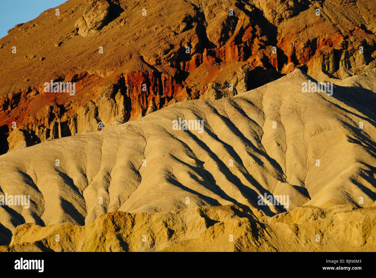 Scenic view of Death Valley, California state - Stock Image