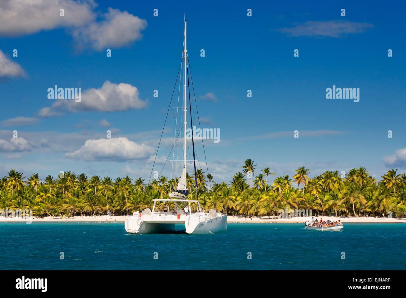 Saona Island, Dominican Republic - Stock Image