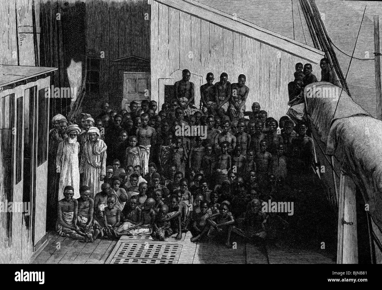 Image result for Newly liberated slaves in Zanzibar.