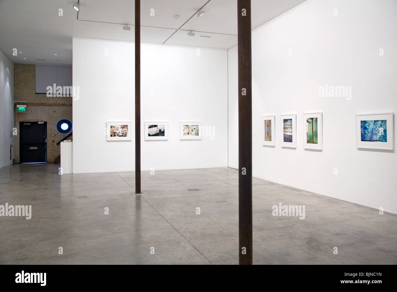 Solo exhibition of photographs of an William Eggleston at Victoria Miro gallery in London - Stock Image
