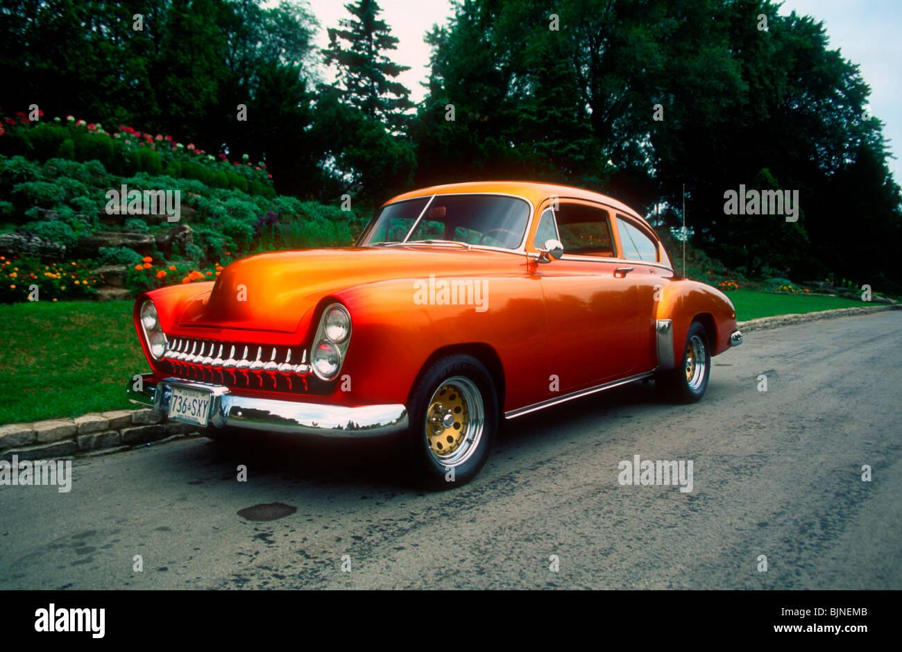 1950 Pontiac Torpedo Stock Photos 1948 Convertible Back Image