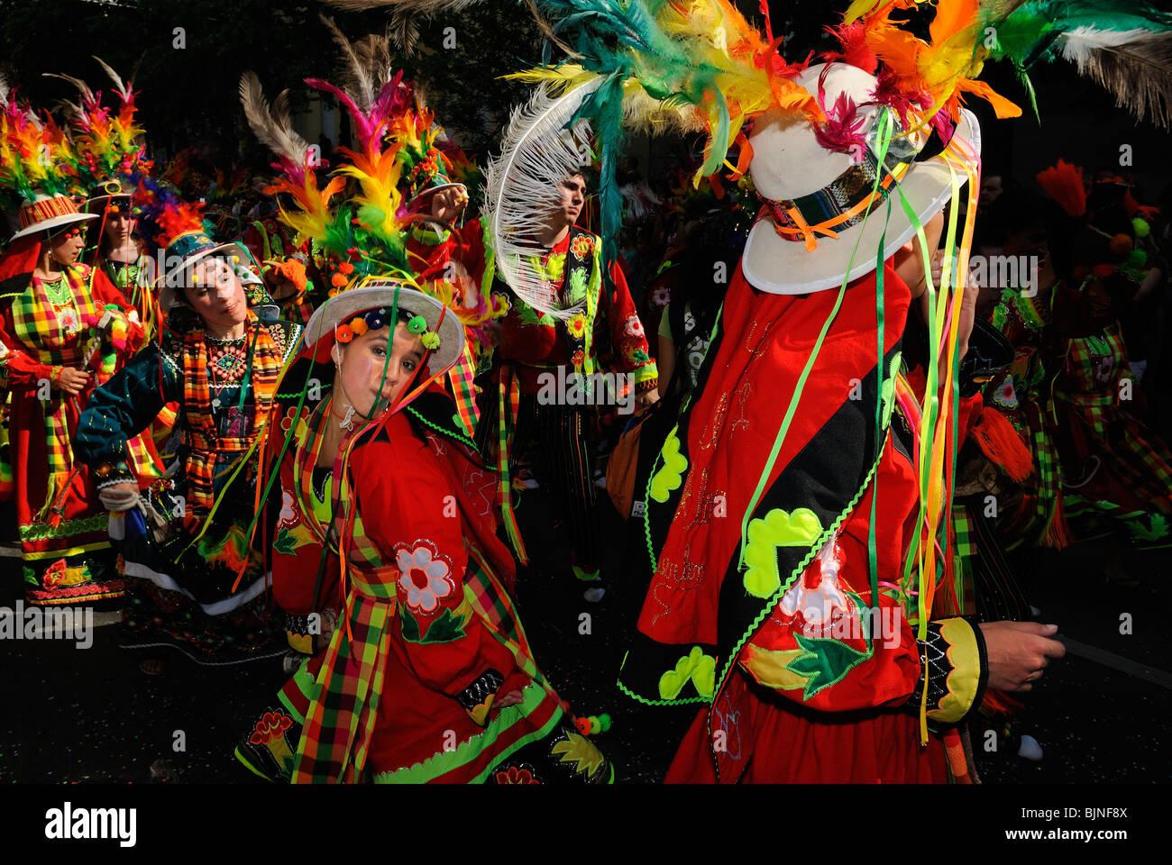 Karneval der Kulturen, Carnival of Cultures, Berlin, Kreuzberg district, Germany, Europe - Stock Image