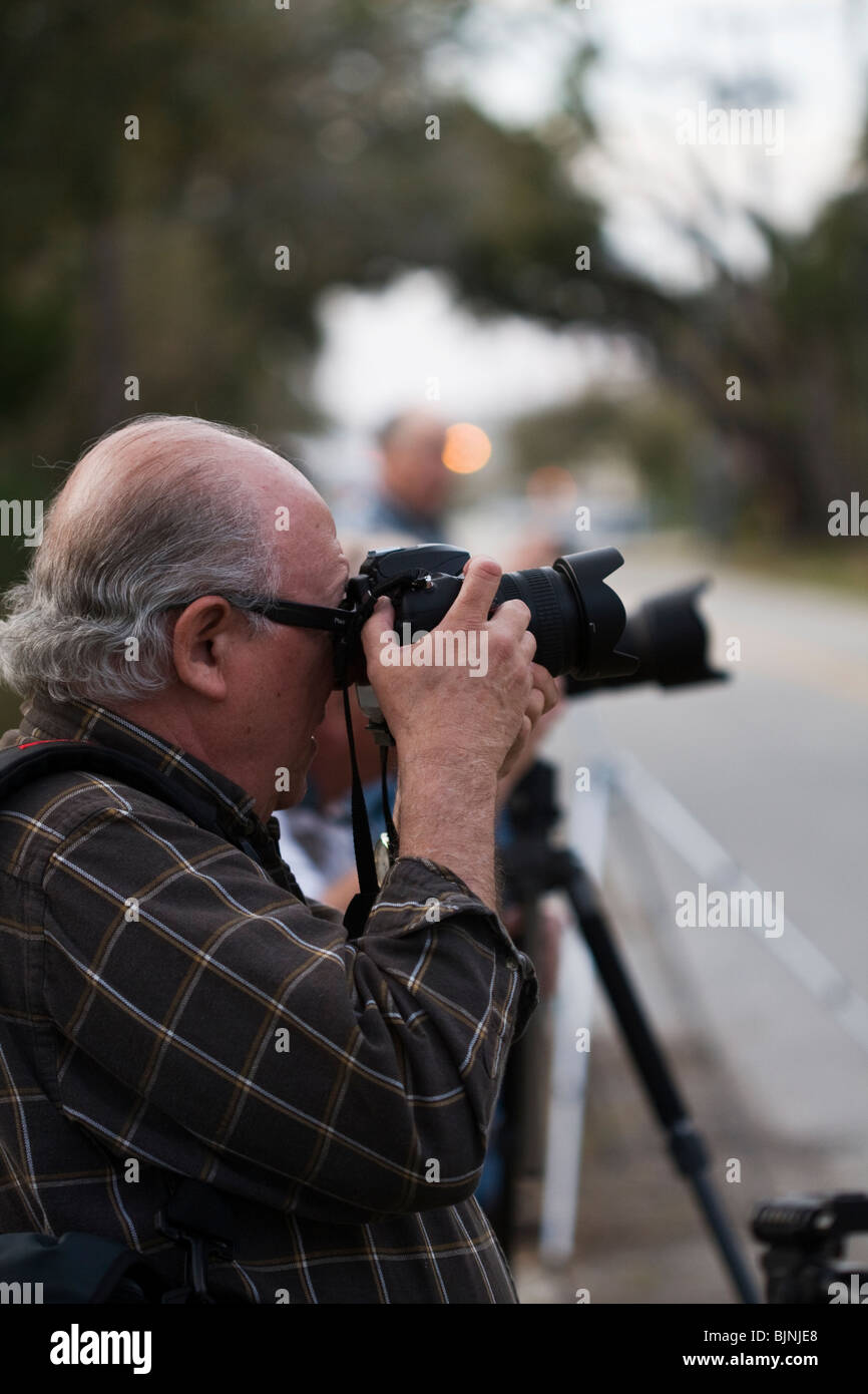 Camera class in session - Stock Image