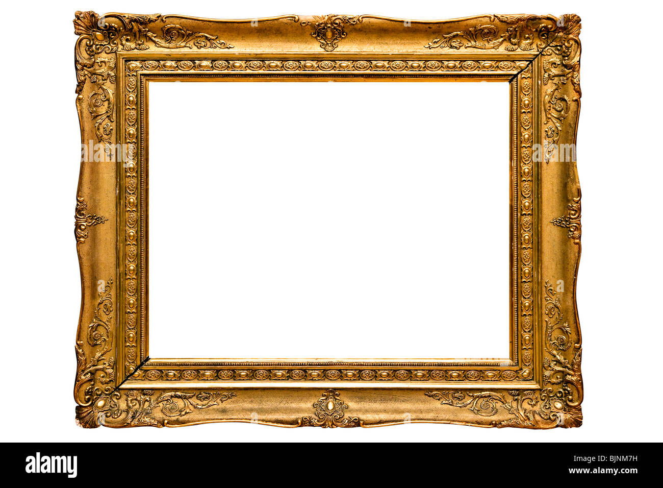 Gilded picture frame - Stock Image