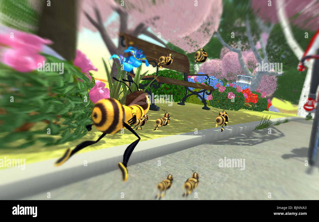 Bee Movie 2007 Images From The Bee Movie Game 003 Stock Photo Alamy
