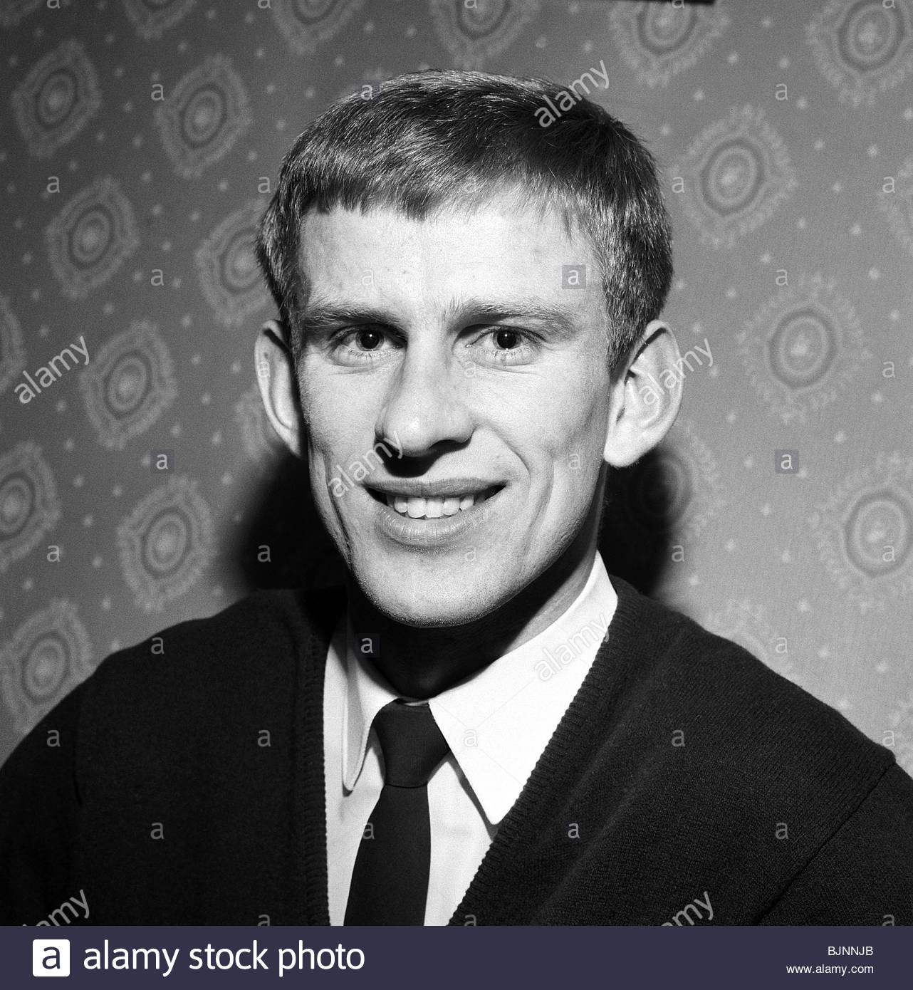 1965/1966 Celtic goalkeeper Bent Martin - Stock Image