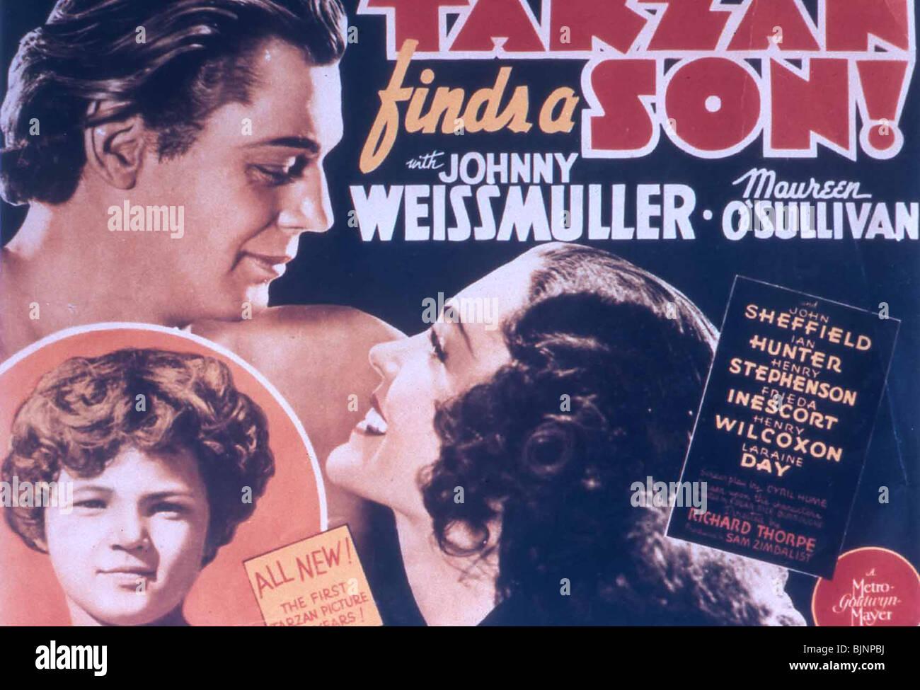 Tarzan Finds A Son 1939 Johnny Weissmuller Maureen O