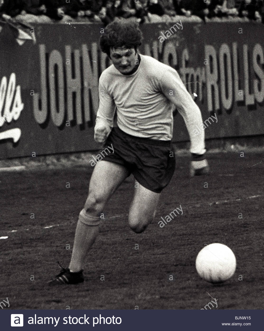 SEASON 1970/1971 PARTICK THISTLE Jimmy Bone in action - Stock Image