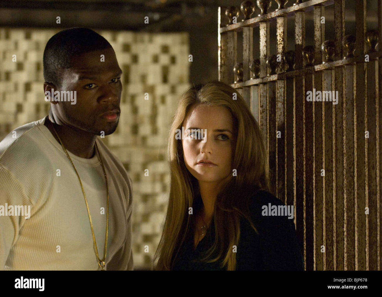 RIGHTEOUS KILL (2009) CURTIS '50 CENT' JACKSON, TRILBY GLOVER JON AVNET (DIR) RIKI 009 - Stock Image