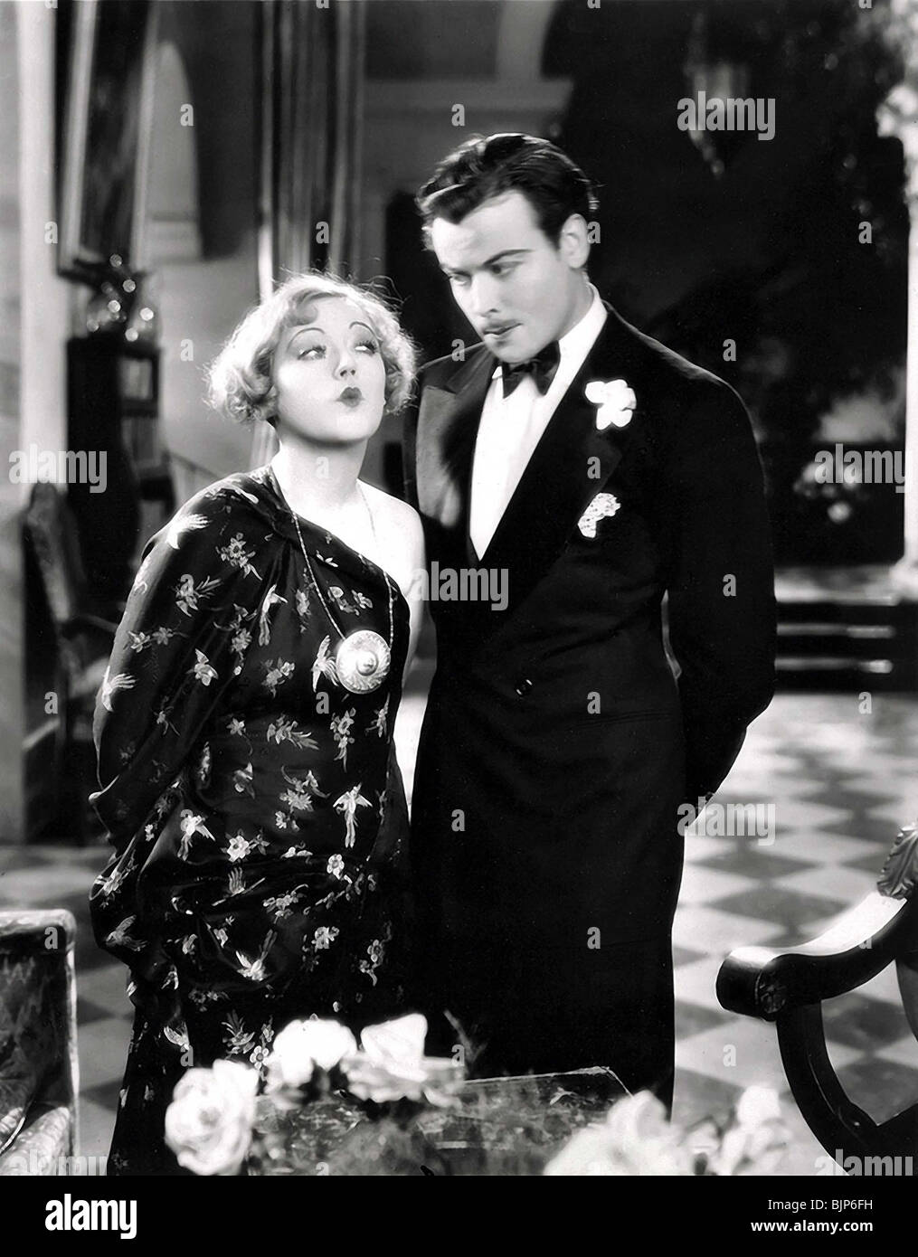 THE CARDBOARD LOVER (1928) MARION DAVIES, NILS ASTHER ROBERT Z. LEONARD (DIR) TCAL 001 - Stock Image