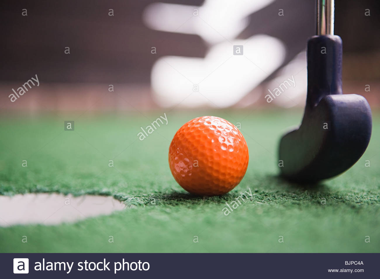 Miniature golf - Stock Image