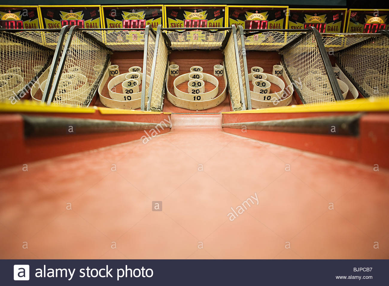 Arcade game - Stock Image