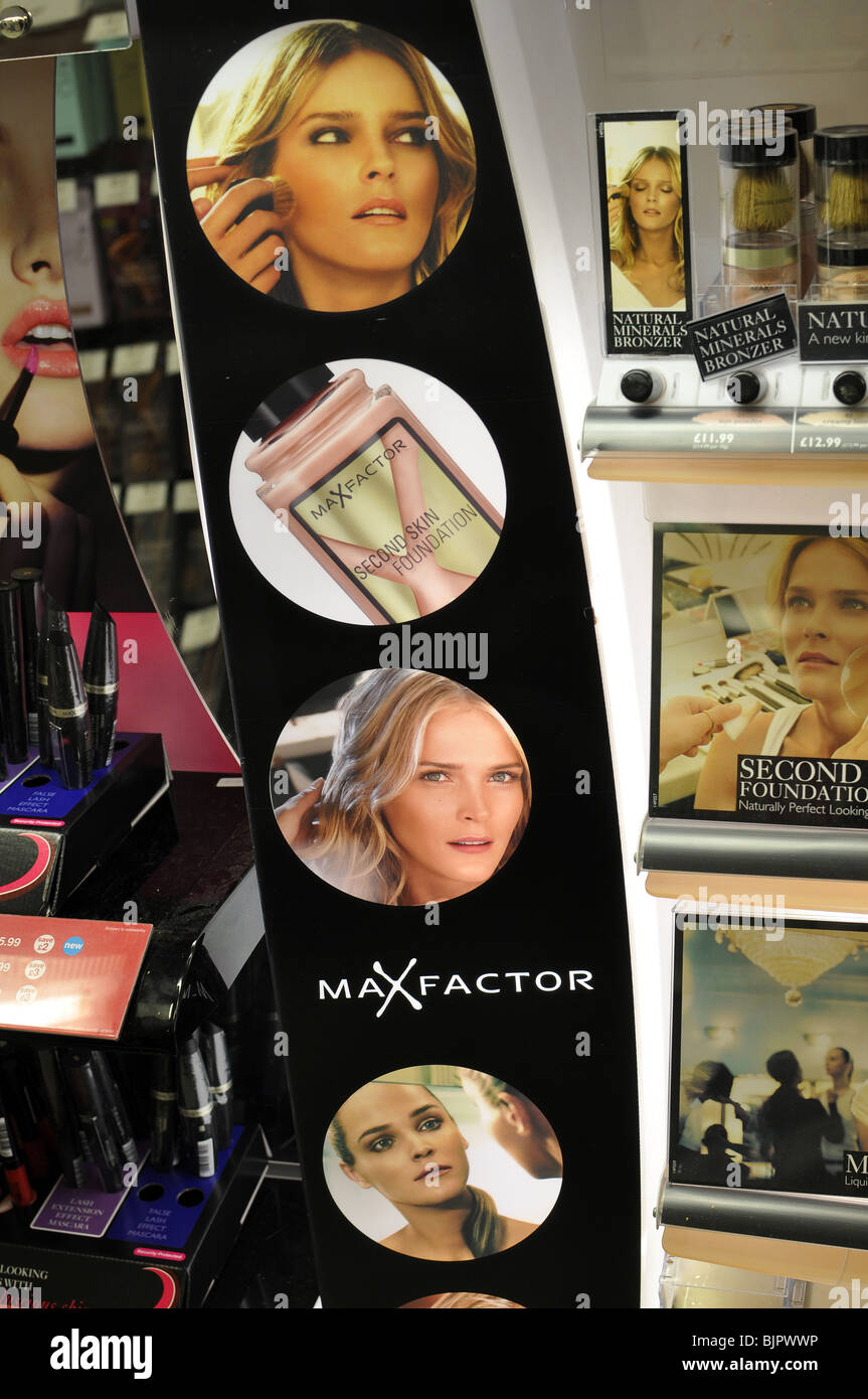 Max Factor - Stock Image