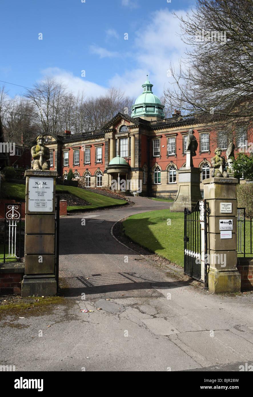 The Entrance To Redhills Durham Miner S Association Hall Durham