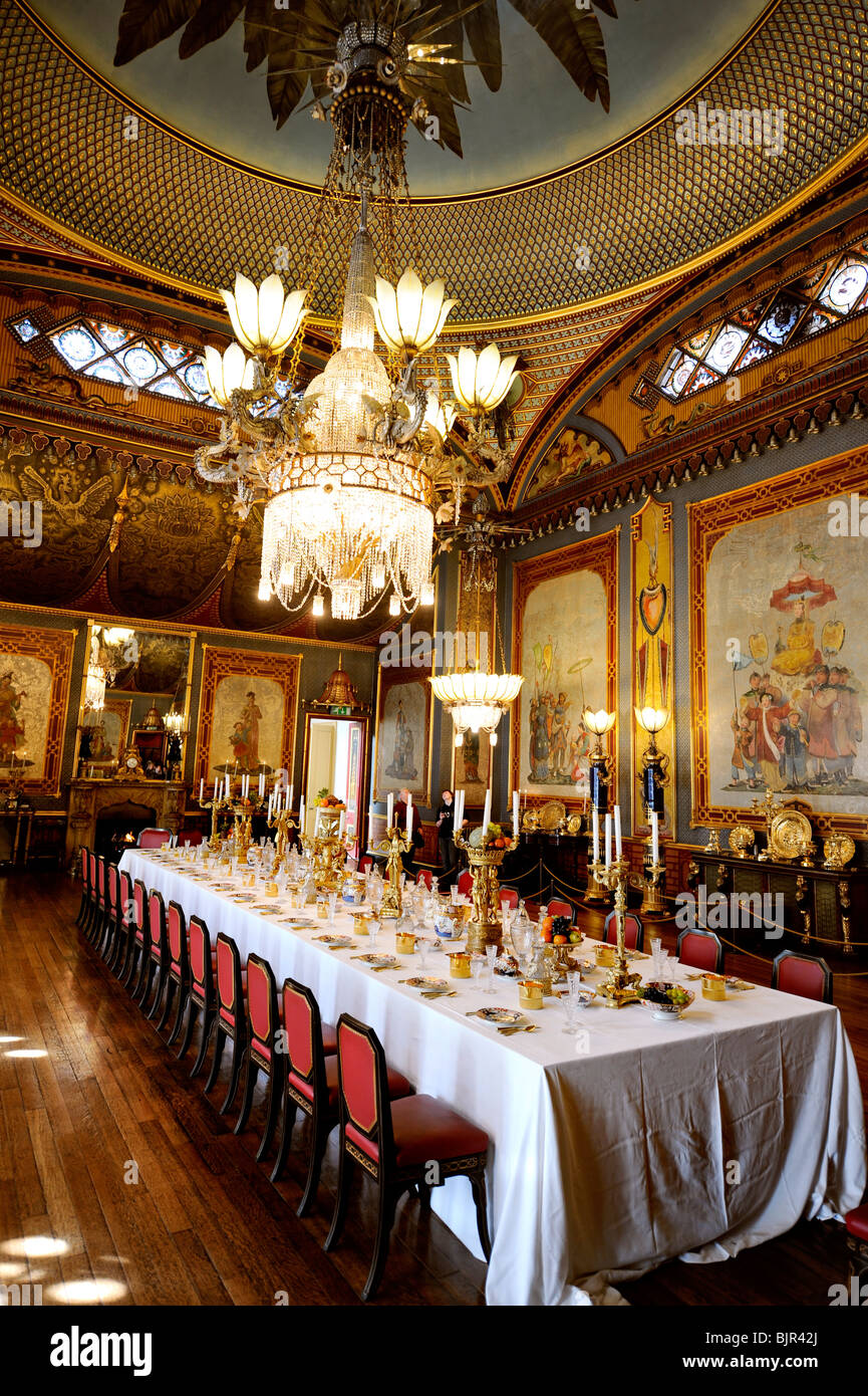 The Huge Dining Table In The Banqueting Room At The Royal