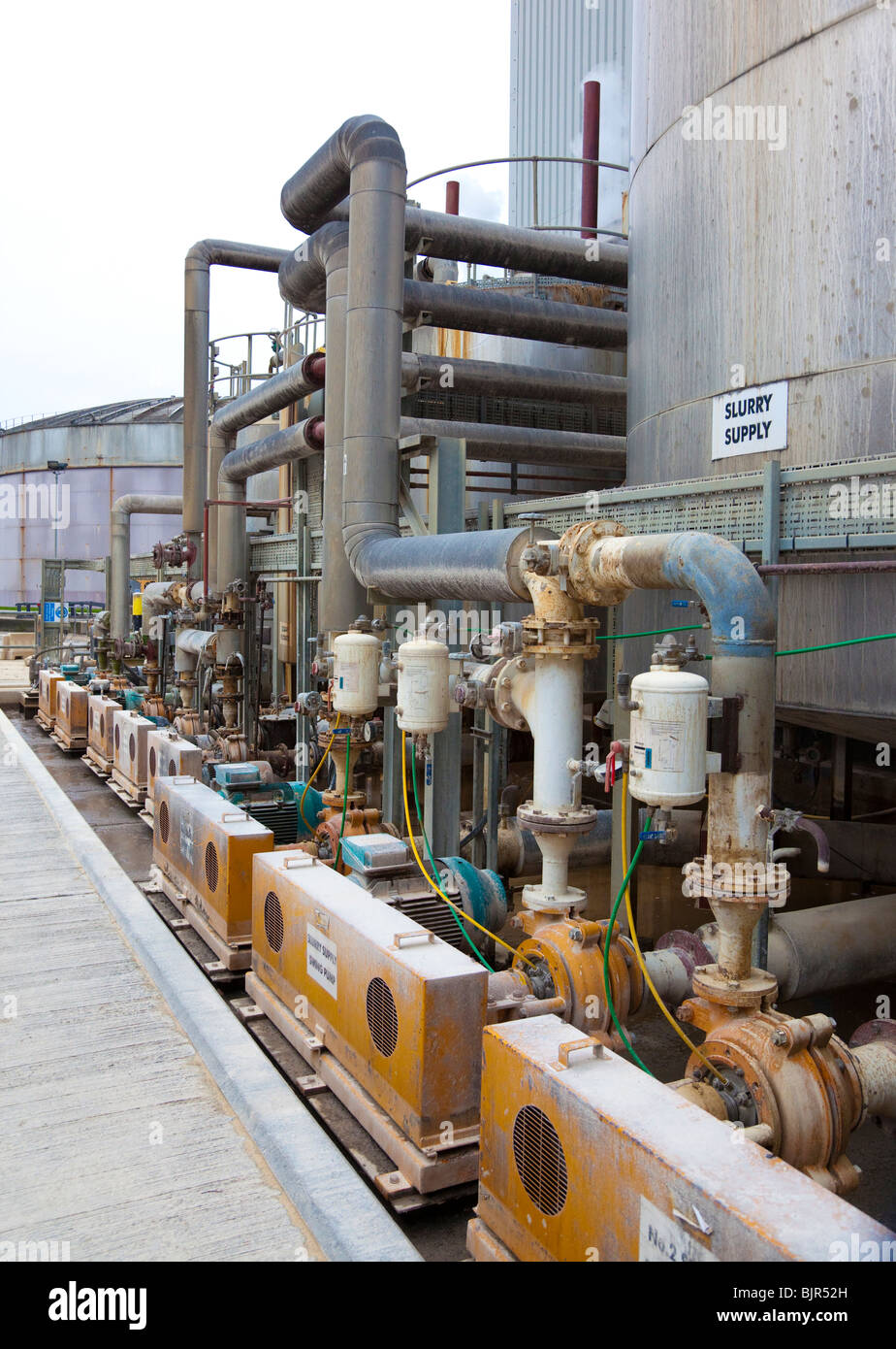 industrial pumps - Stock Image