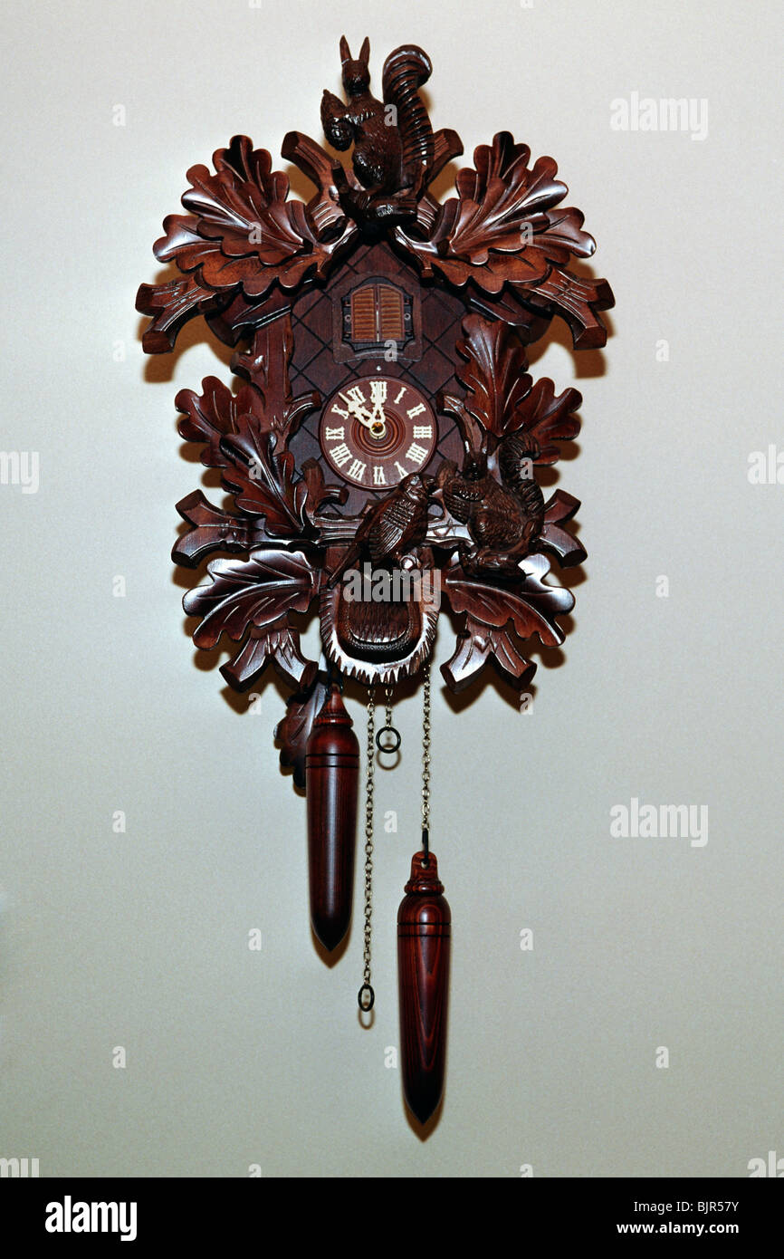 Cuckoo clock - Stock Image