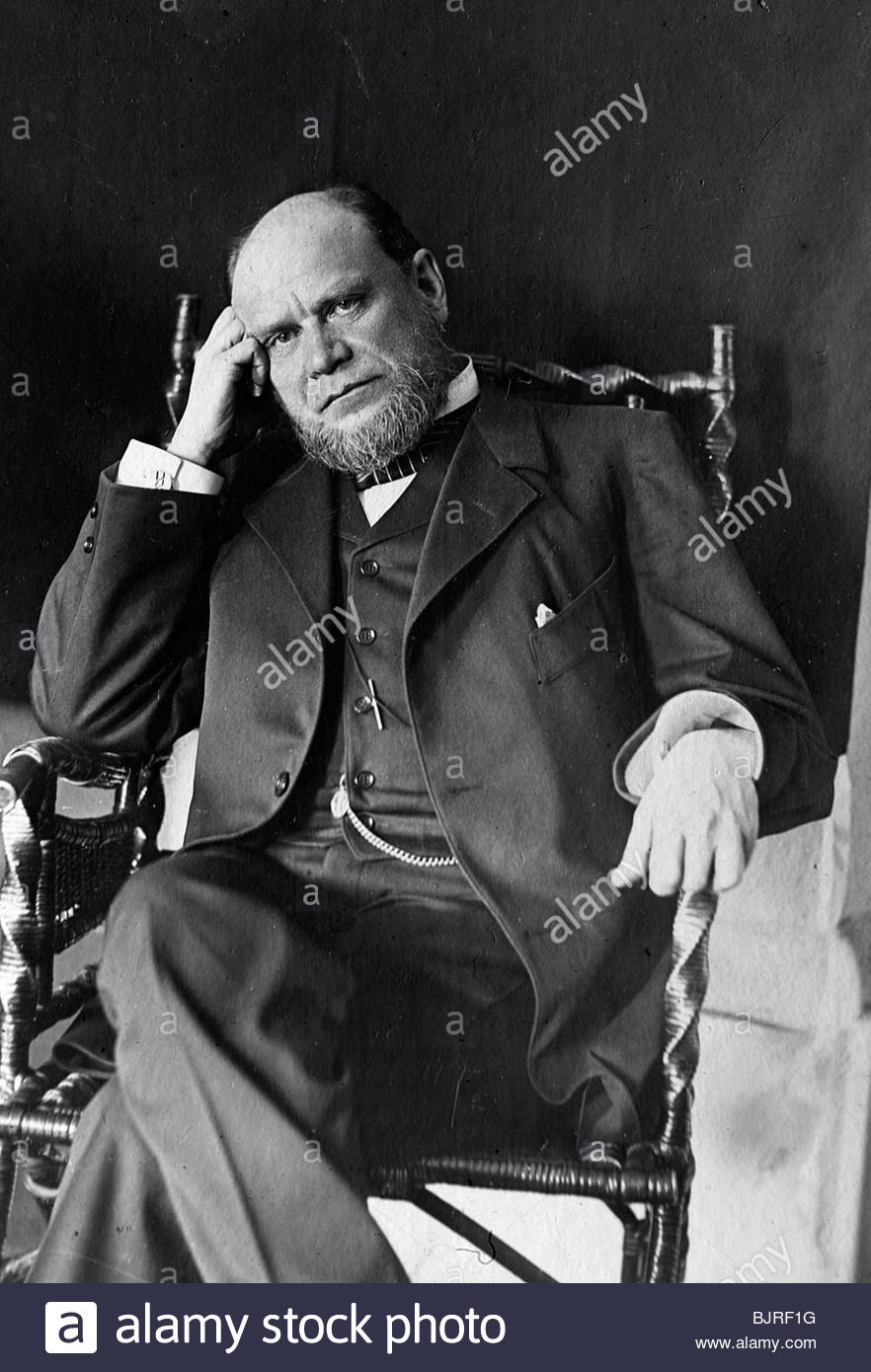 Anatoli Koni, Russian lawyer and author, late 19th or early 20th century. - Stock Image