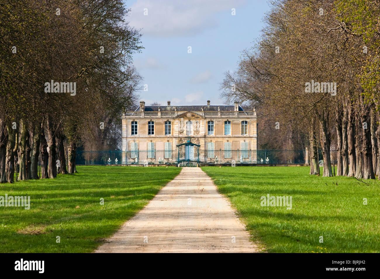 Chateau de Canon mansion manor house at Mezidon Canon, Calvados, Normandy, France - Stock Image