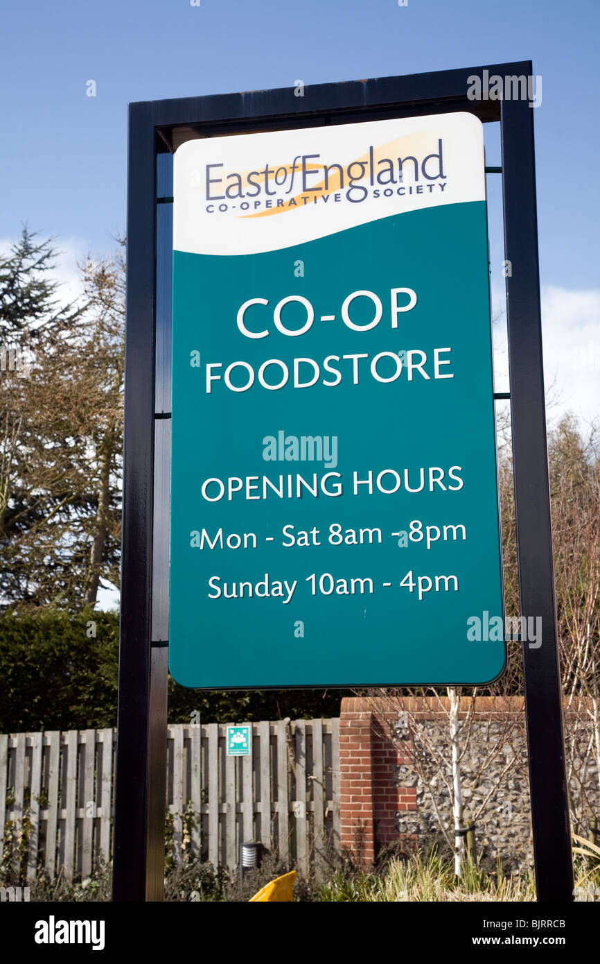Co Op Food Opening Hours