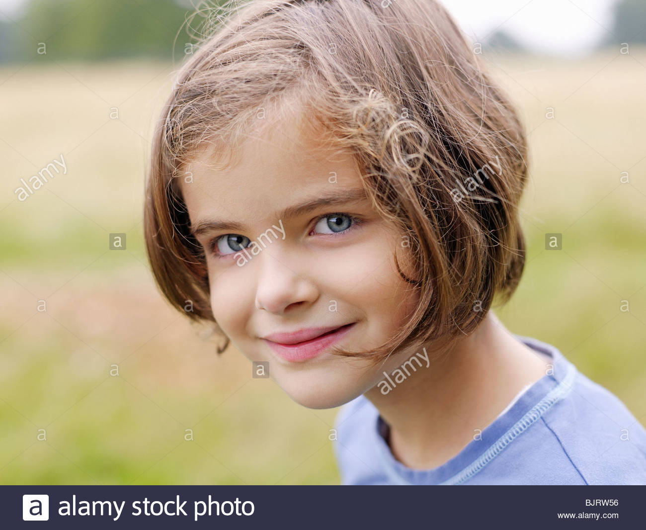 Cute girl - Stock Image