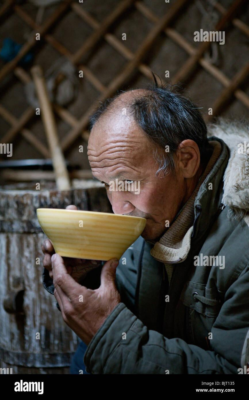 man-drinking-airag-ayrag-fermented-mares