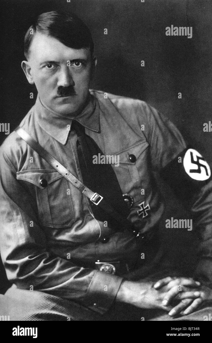 describing the german dictator adolf hitler The story of how hitler became a dictator is set  president hindenburg appointed adolf hitler chancellor of germany although the national socialists never .