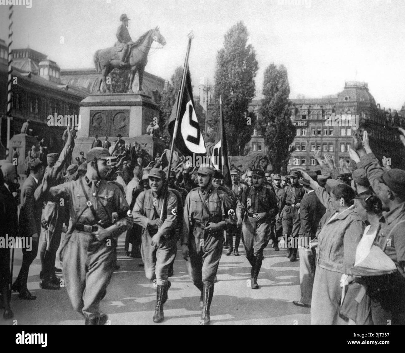 Horst Wessel (1907-1930), German Nazi activist, Nuremberg, 1929 (1933). - Stock Image