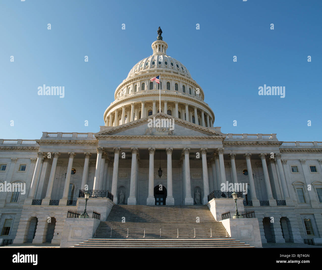 East Side Of The United States Capitol Building In Washington Dc Stock Photo Alamy