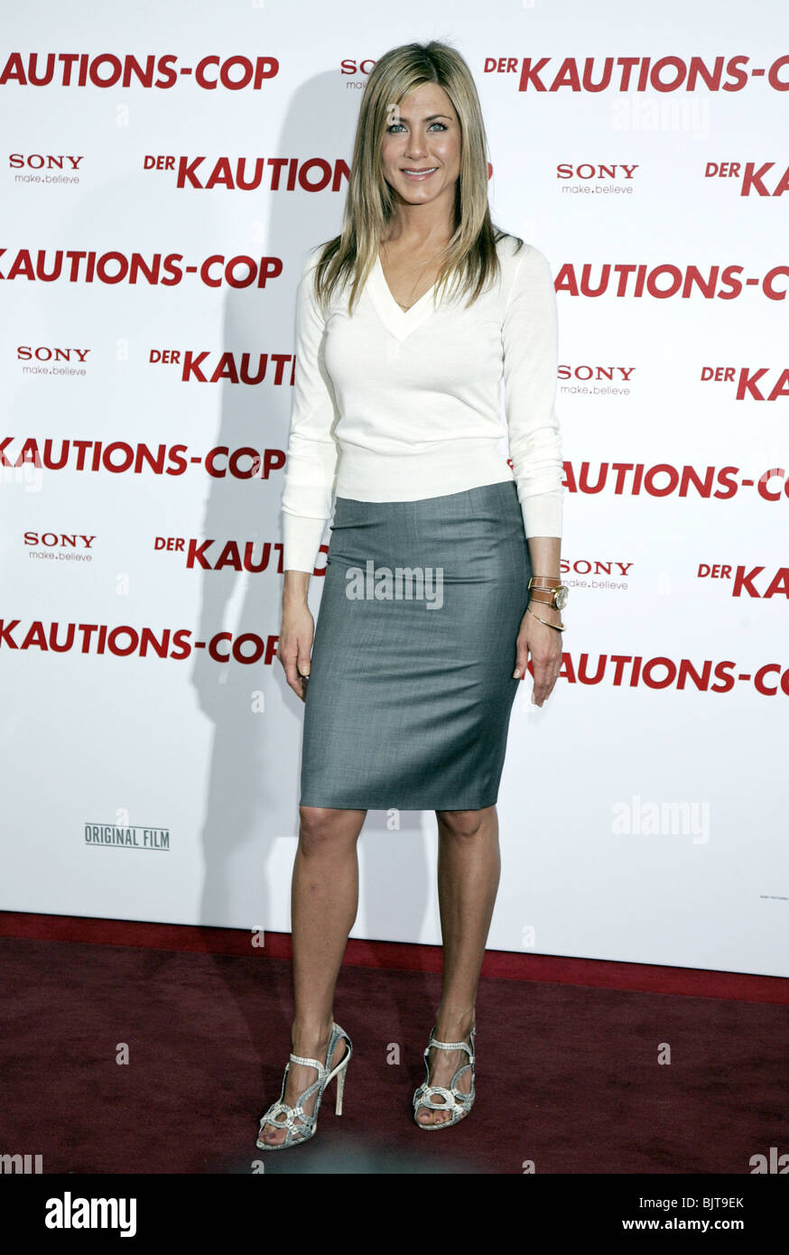 a910afc61a JENNIFER ANISTON THE BOUNTY HUNTER PHOTOCALL HOTEL DE ROME BERLIN GERMANY  29 March 2010 - Stock