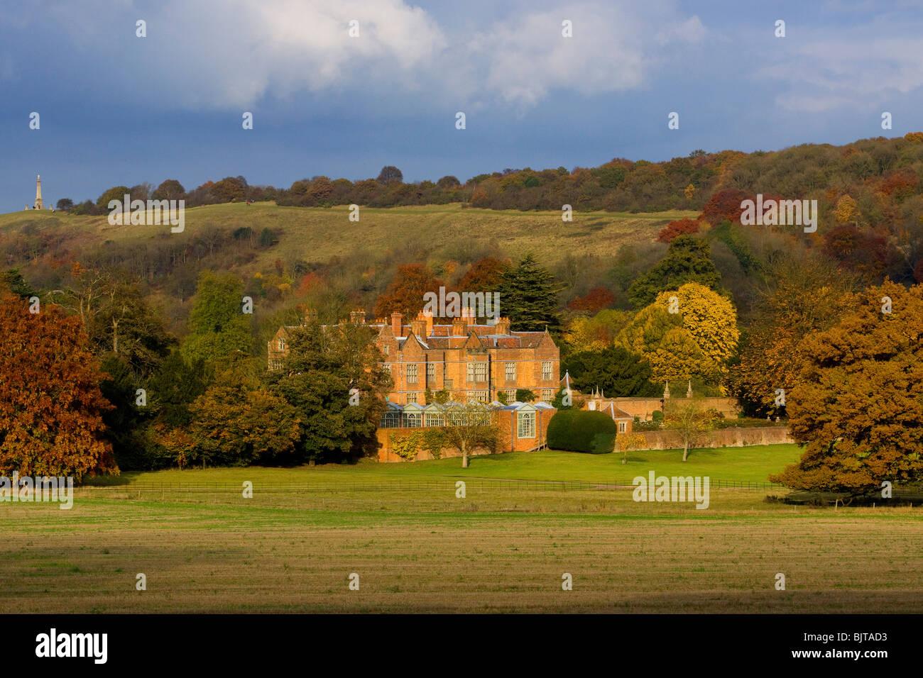 Autumn Chequers Buckinghamshire - Stock Image