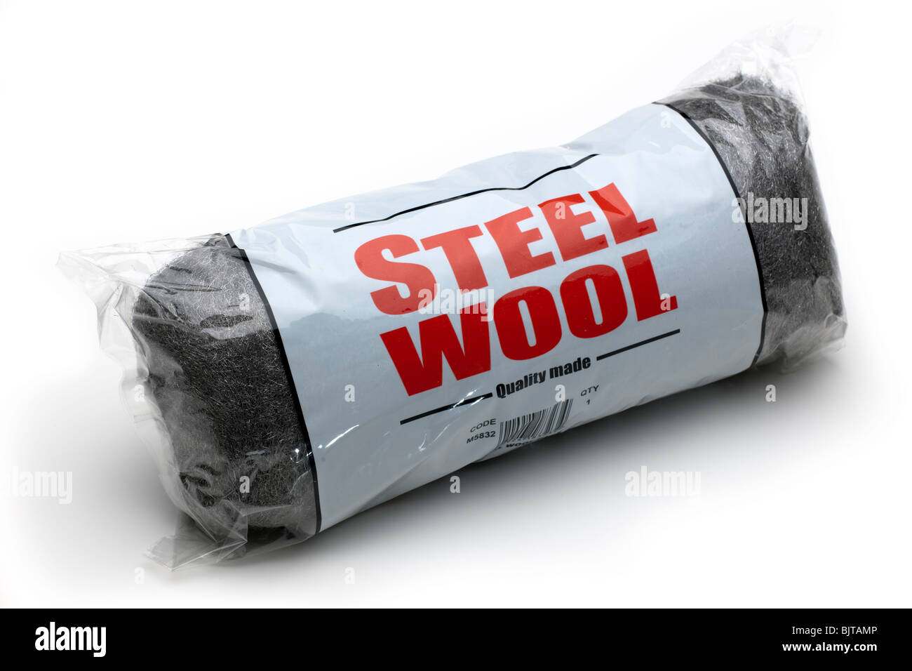"Bag of ""Steel Wool ""wire wool Stock Photo"