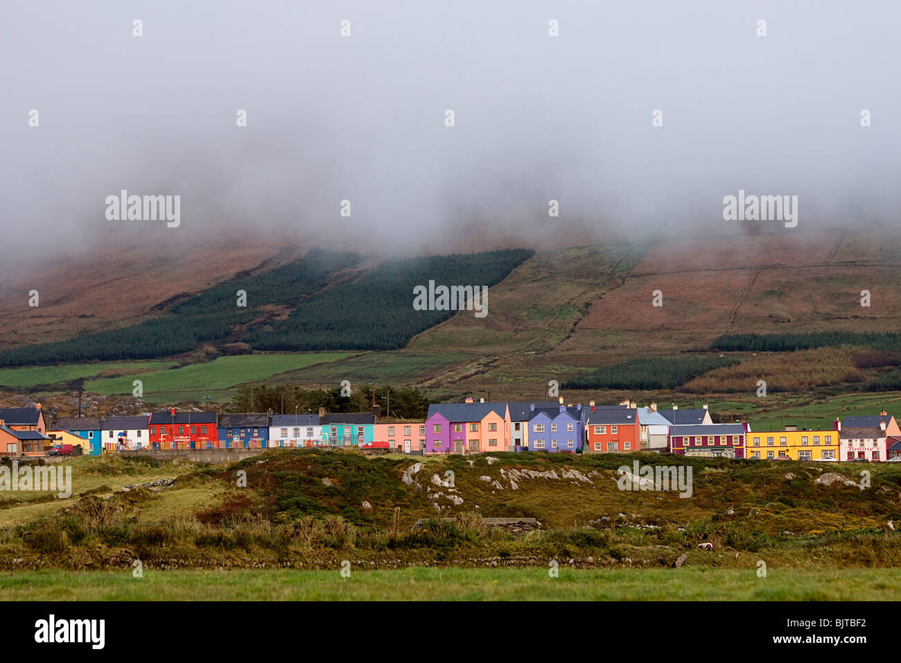Ballydonegan Beara Way Peninsula Ireland West Cork - Stock Image