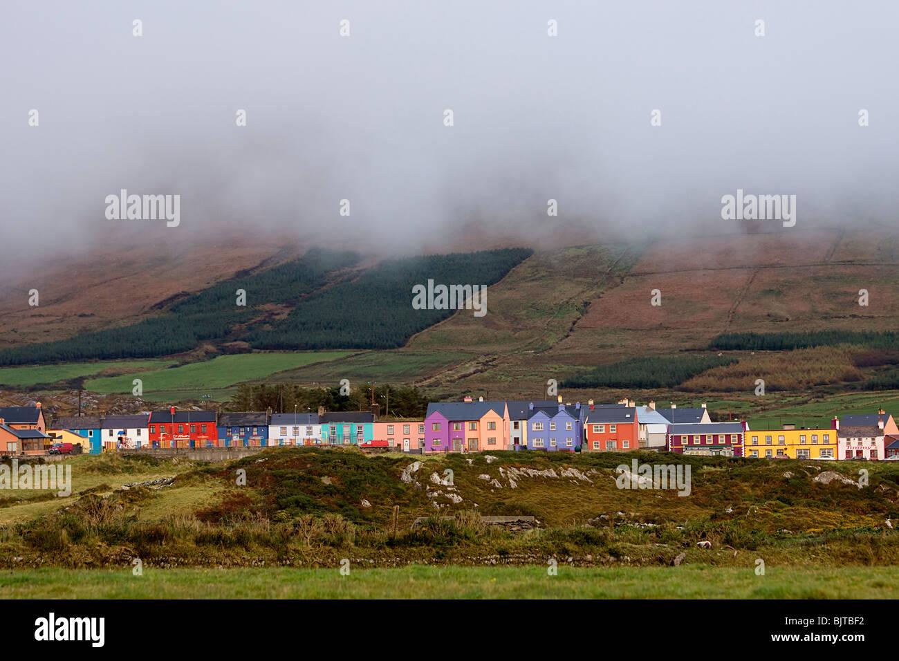 Ballydonegan Beara Way Peninsula Ireland West Cork - Stock Image