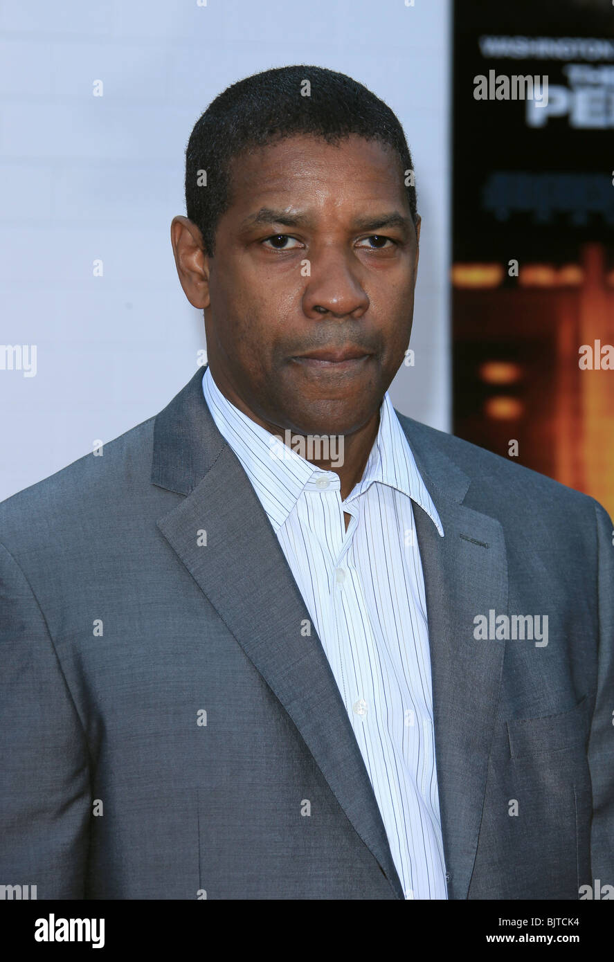 DENZEL WASHINGTON THE TAKING OF PELHAM 123 LOS ANGELES PREMIERE WESTWOOD CA USA 04 June 2009 Stock Photo