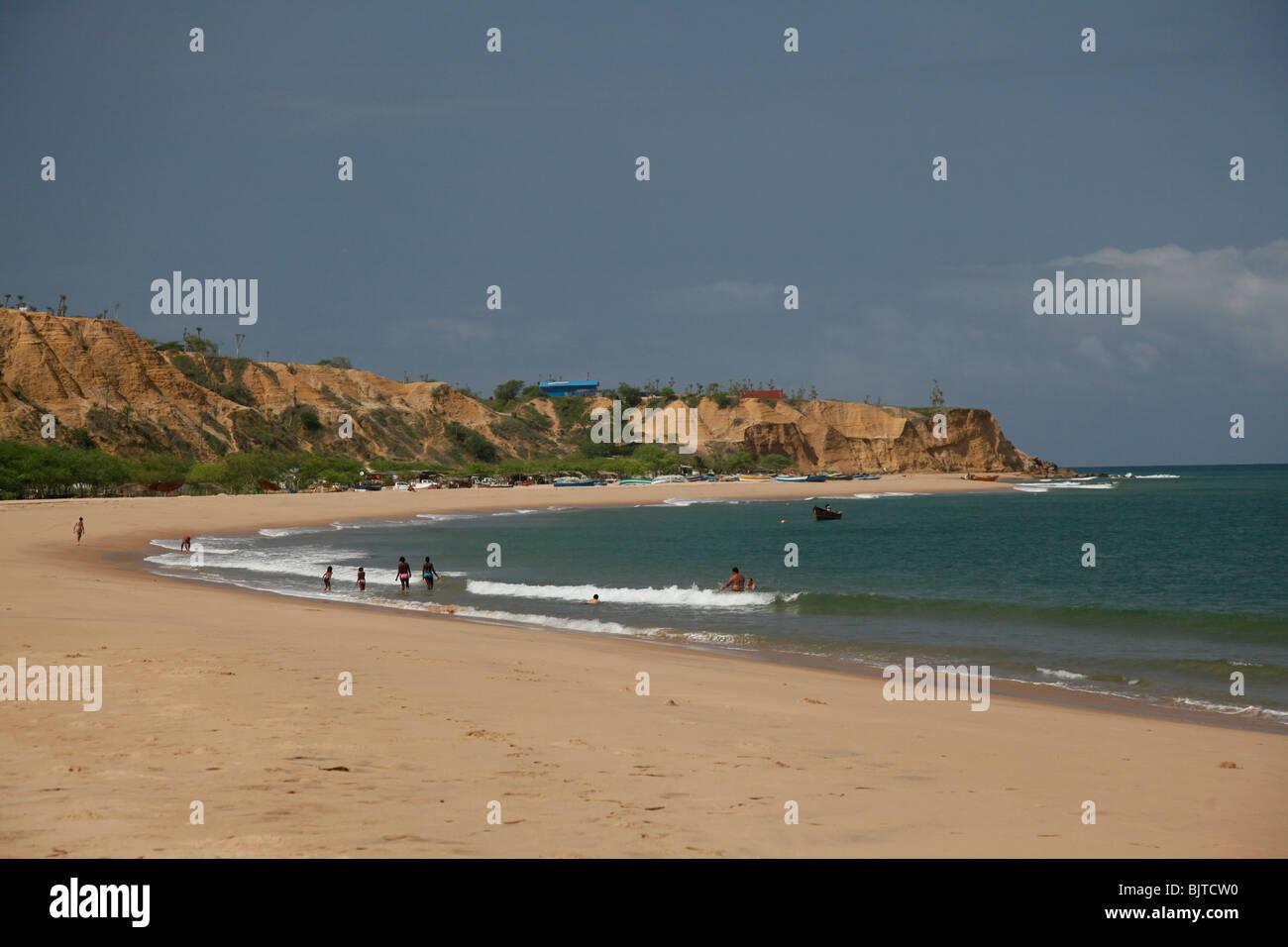 Sangano Beach, South of Luanda, Bengo province, Angola. Africa. © Zute Lightfoot www.lightfootphoto.com - Stock Image