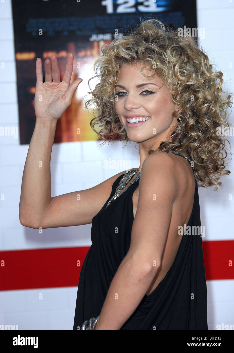 ANNALYNNE MCCORD THE TAKING OF PELHAM 123 LOS ANGELES PREMIERE WESTWOOD CA USA 04 June 2009 - Stock Image