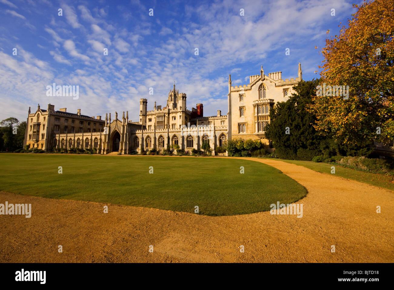 St John's College Cambridge - Stock Image
