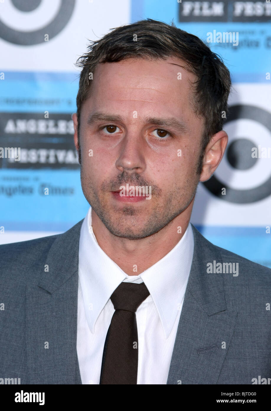 GIOVANNI RIBISI PUBLIC ENEMIES LOS ANGELES PREMIERE AT THE LOS ANGELES FILM FESTIVAL WESTWOOD CA USA 23 June 2009 - Stock Image