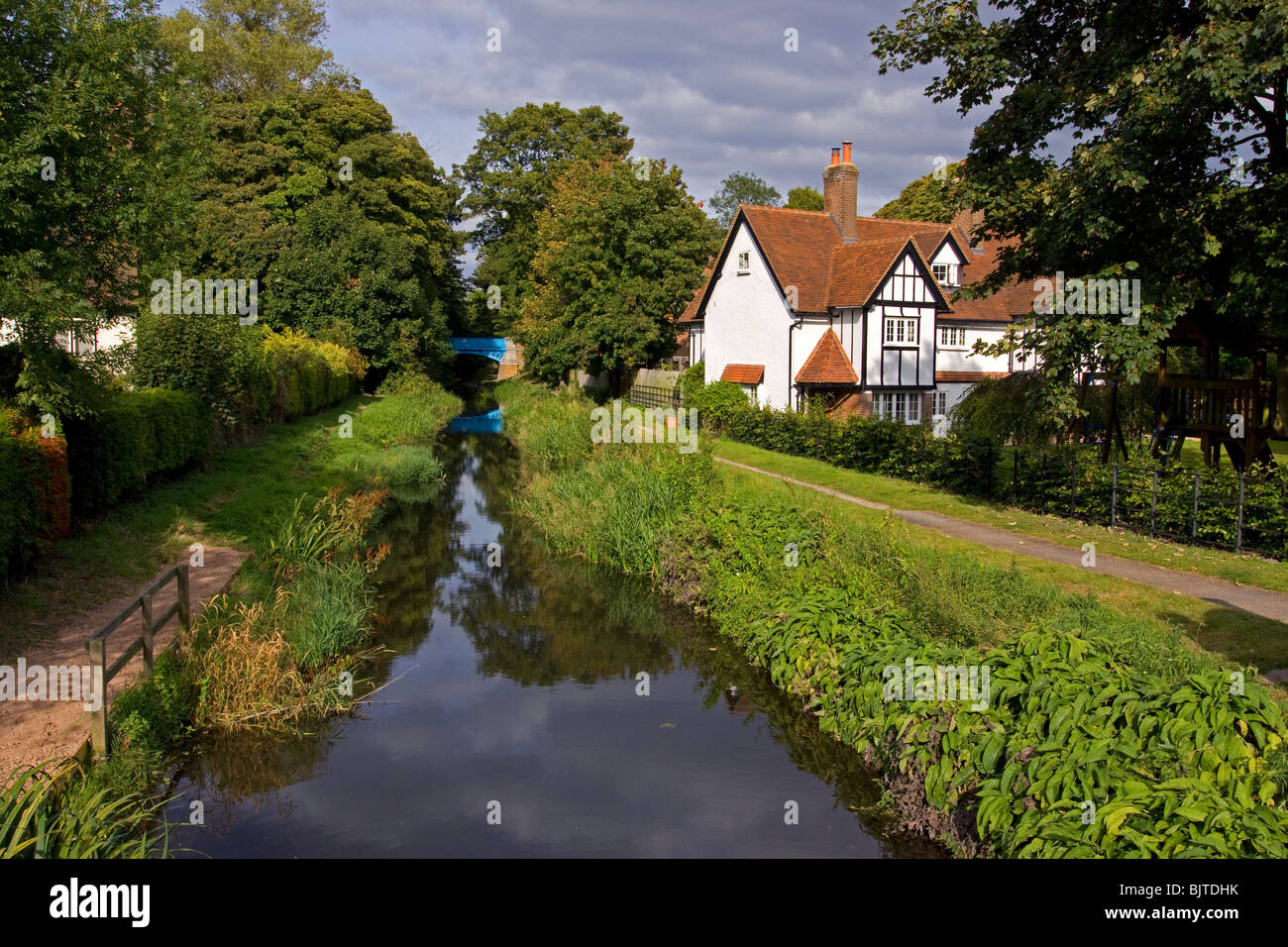 Wendover Arm canal Halton British Waterways Chilterns - Stock Image