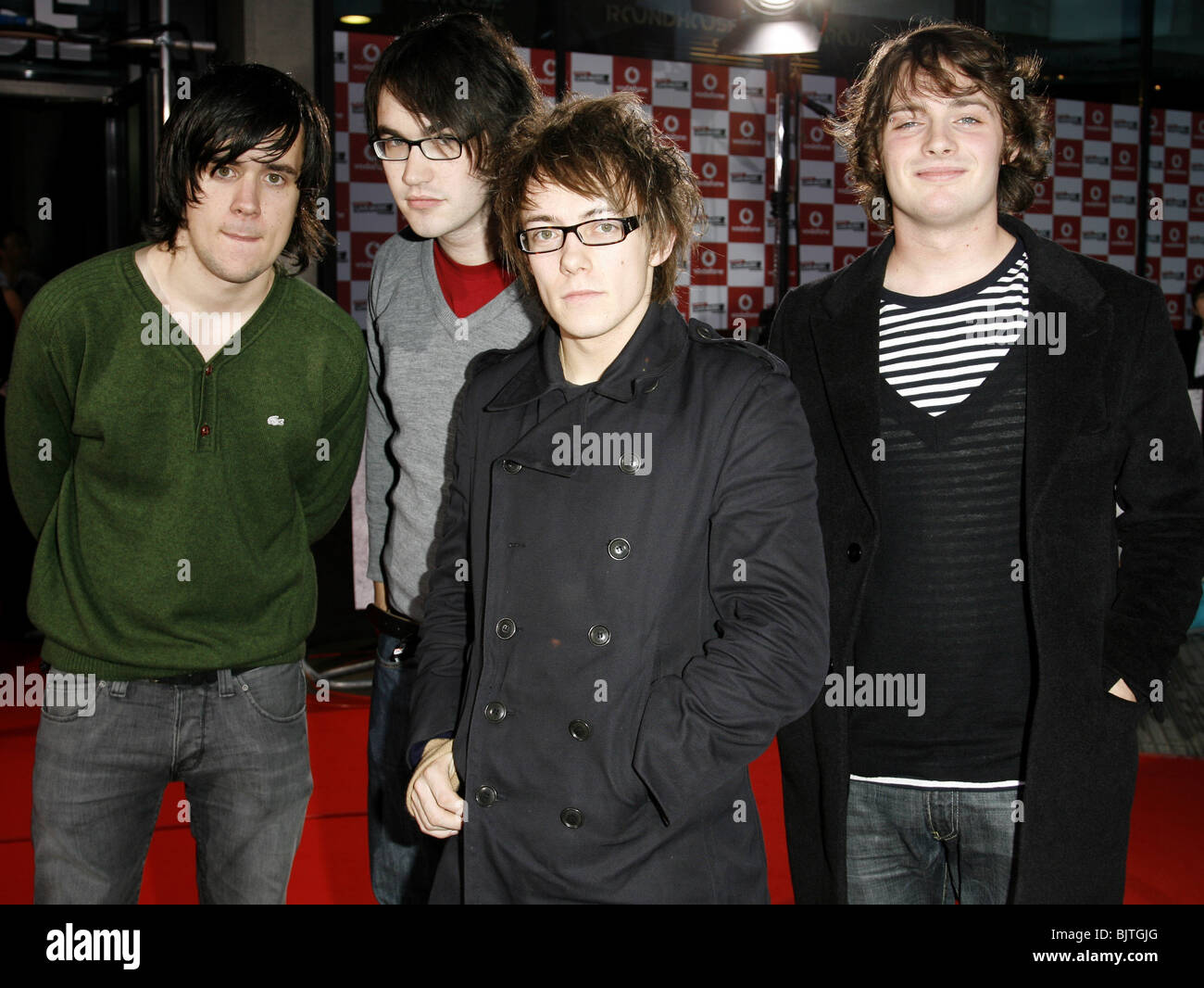 THE AUTOMATIC VODAFONE LIVE MUSIC AWARDS ROUNDHOUSE CAMDEN LONDON 11 October 2006 - Stock Image